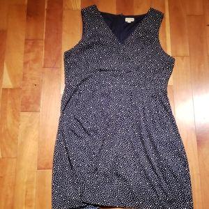 Blue dotted Maison Jules dress
